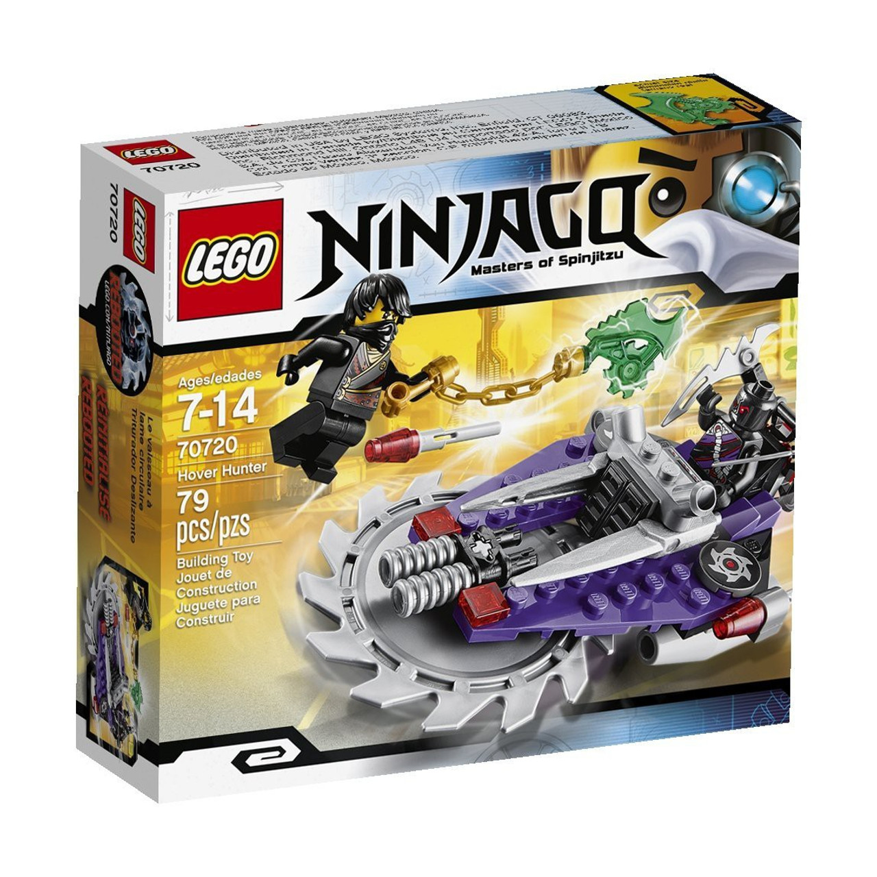 LEGO Ninjago Rebooted Hover Hunter Set #70720
