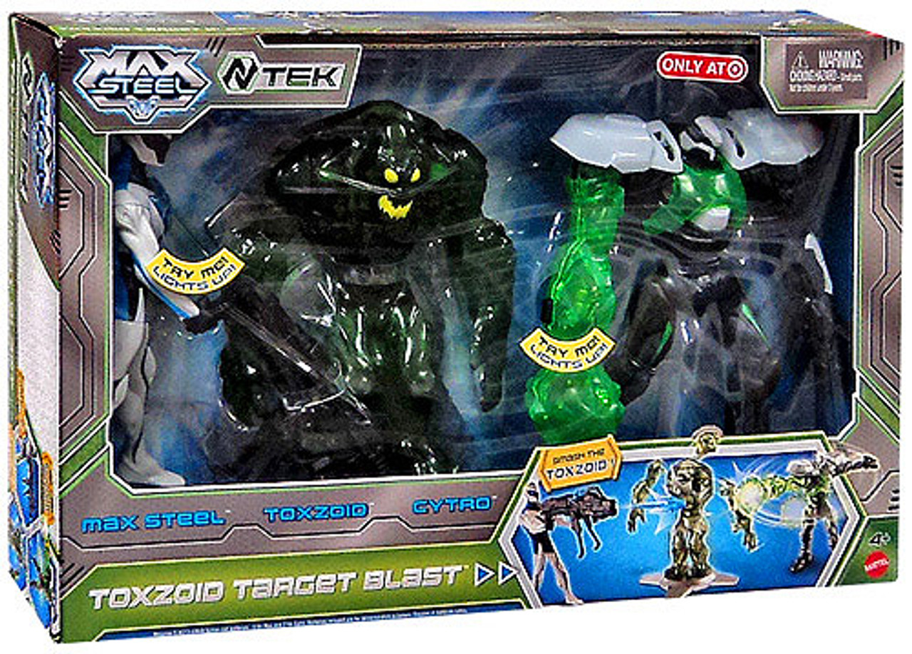 Max Steel Toxzoid Target Blast Exclusive Action Figure 3-Pack