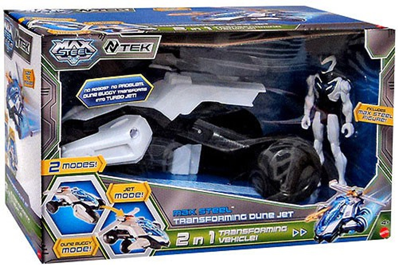 Max Steel Transforming Dune Jet Exclusive Vehicle & Figure