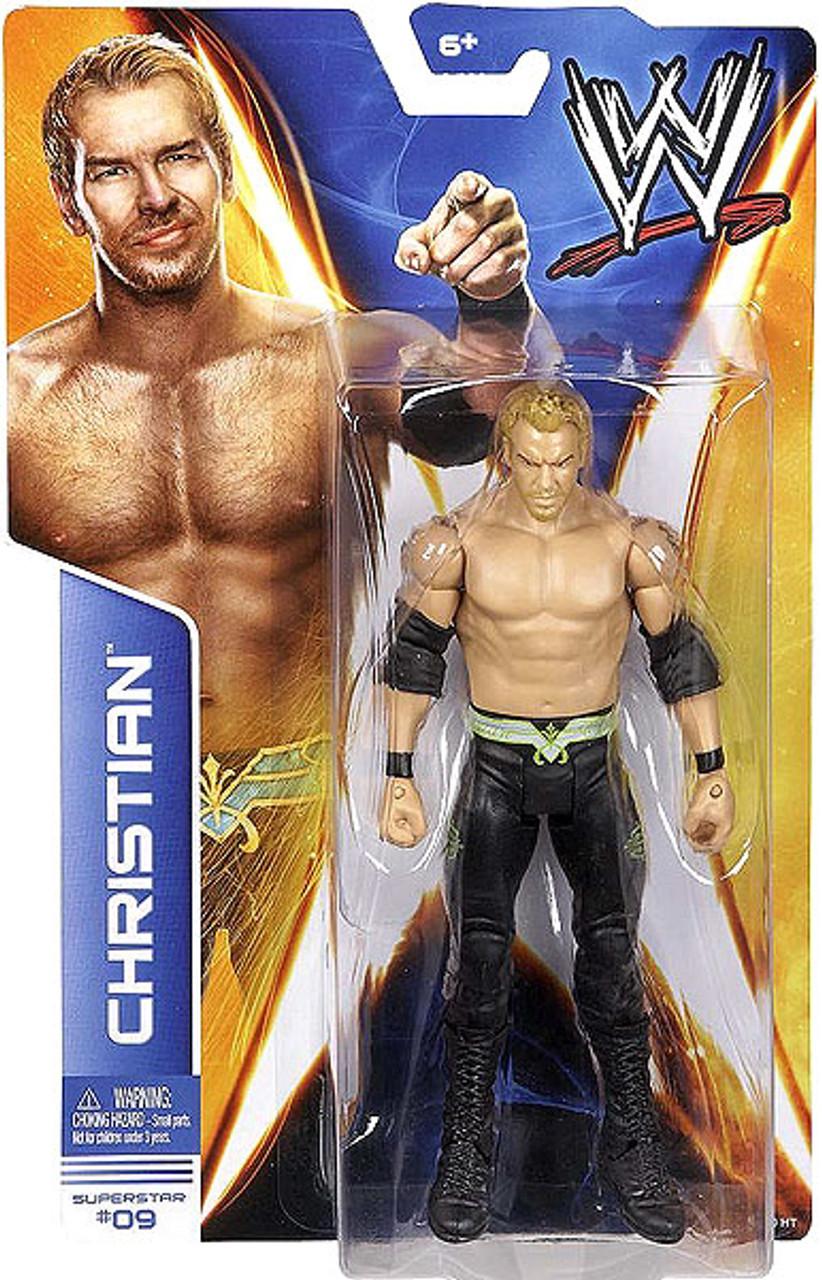 WWE Wrestling Series 36 Christian Action Figure #9