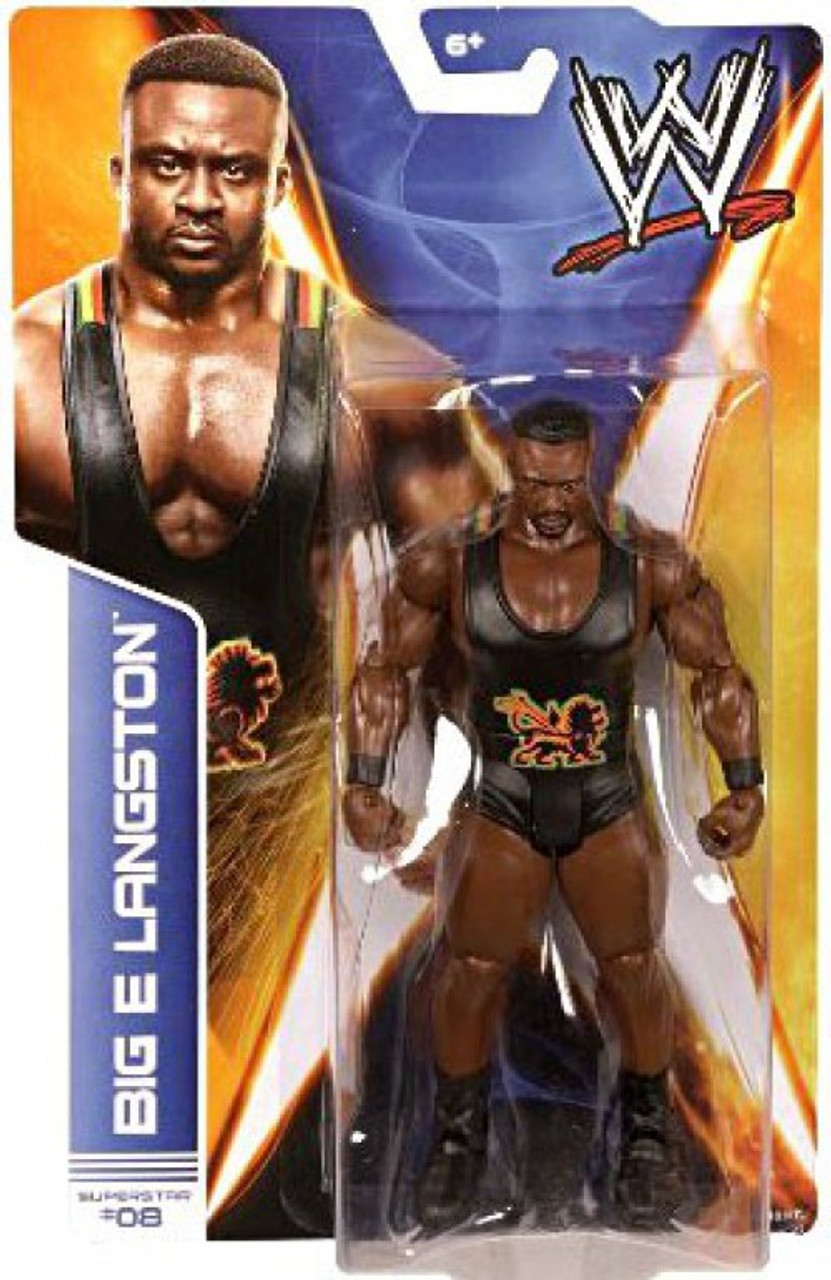 WWE Wrestling Series 36 Big E Langston Action Figure #8