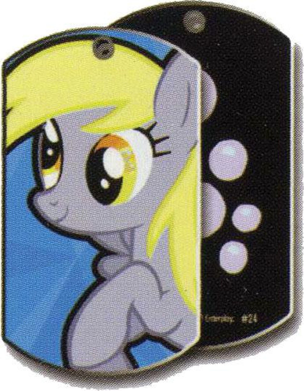 My Little Pony Friendship is Magic Dog Tags Derpy Hooves Dog Tag #24 [Loose]