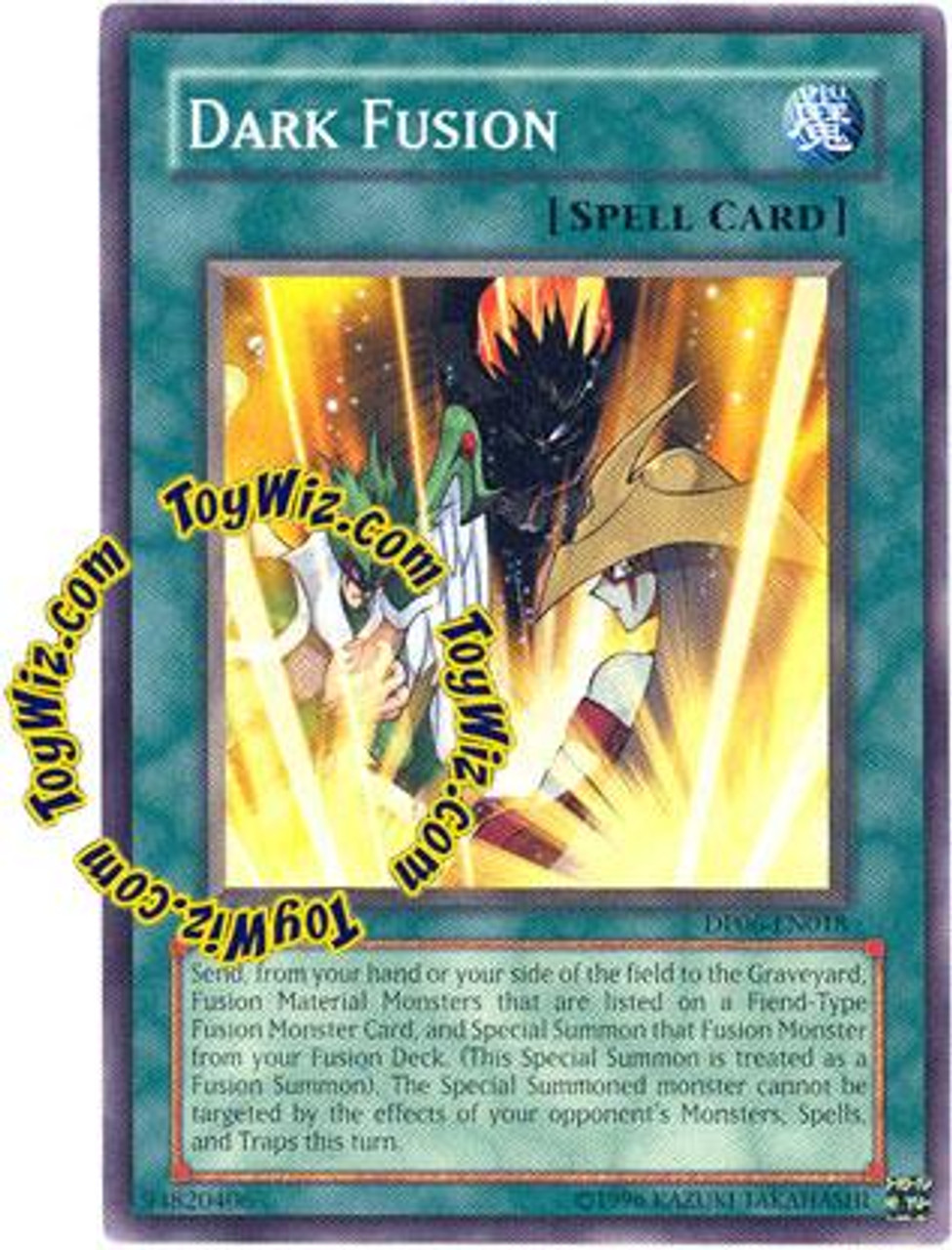YuGiOh GX Duelist Pack Jaden Yuki 3 Common Dark Fusion DP06-EN018