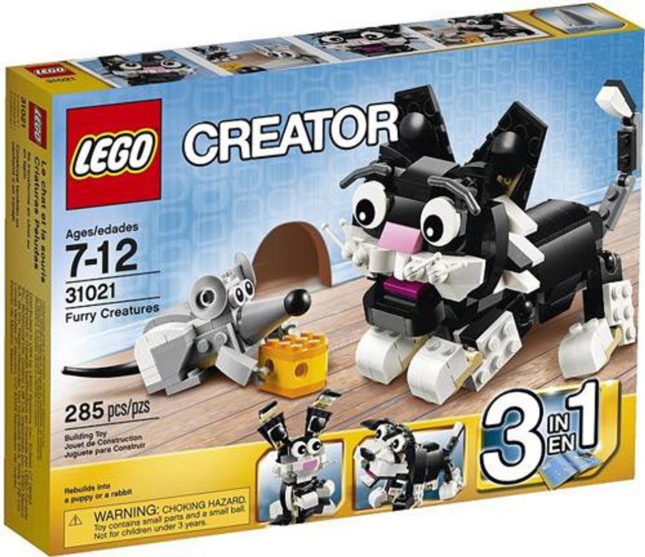 LEGO Creator Furry Creatures Set #31021
