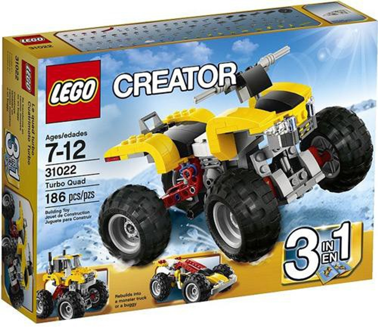 LEGO Creator Turbo Quad Set #31022