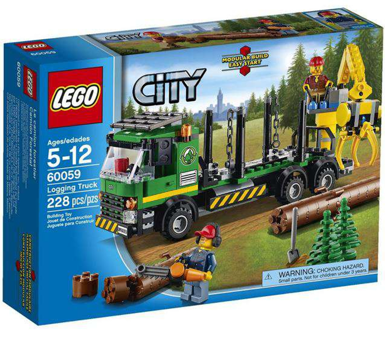 LEGO City Logging Truck Set #60059