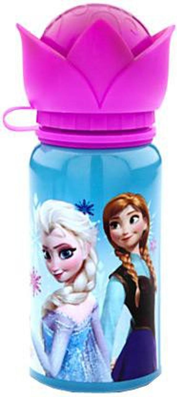 Disney Frozen Aluminum Exclusive Water Bottle [Pink Flower Top]