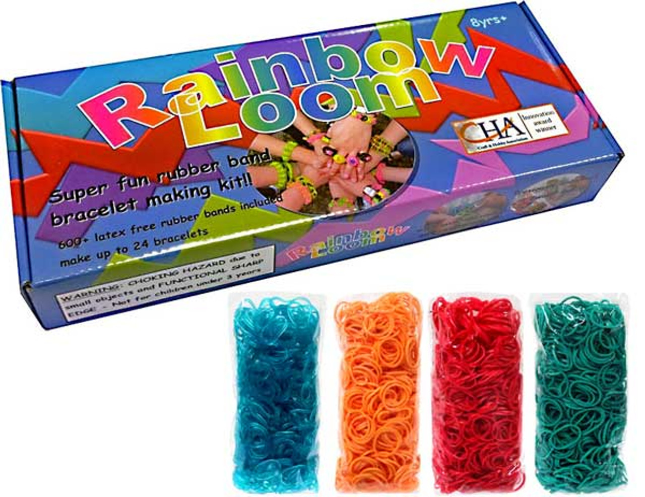 Rainbow Loom Starter Kit [With 2400 additional bands]