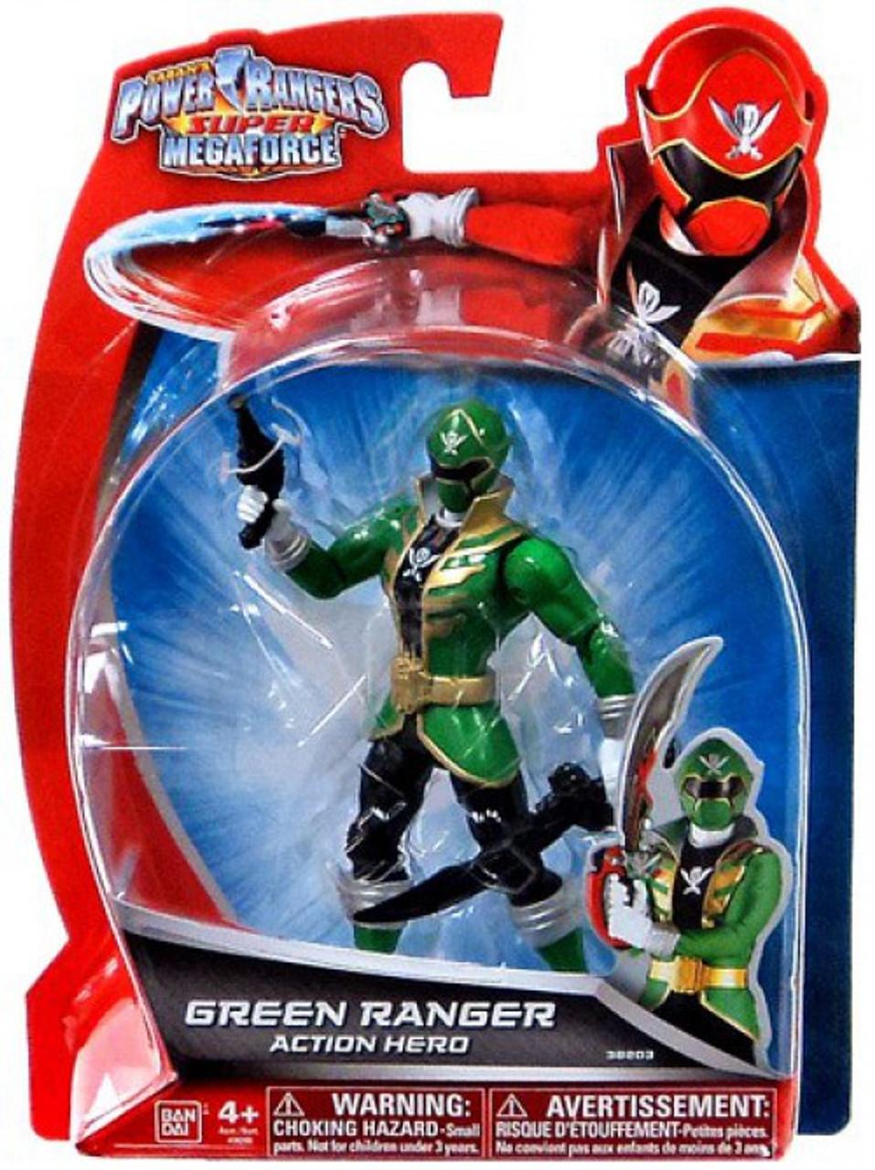 Power Rangers Super Megaforce Green Ranger Action Hero Action Figure