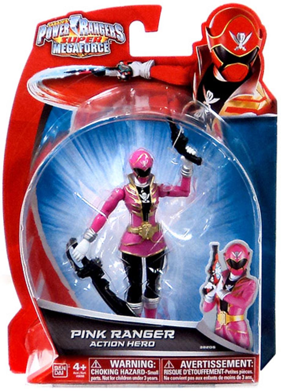 Power Rangers Super Megaforce Pink Ranger Action Hero Action Figure
