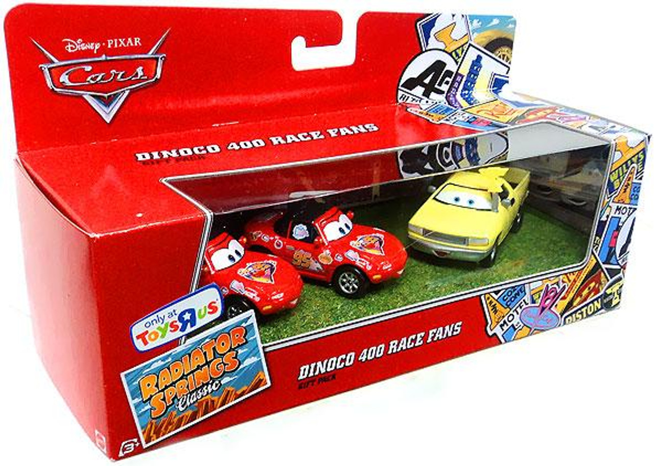 Disney Cars Radiator Springs Classic Dinoco 400 Race Fans Exclusive Diecast Car