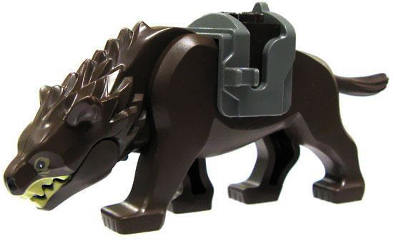 LEGO The Hobbit Loose Warg Minifigure [Dark Brown Loose]