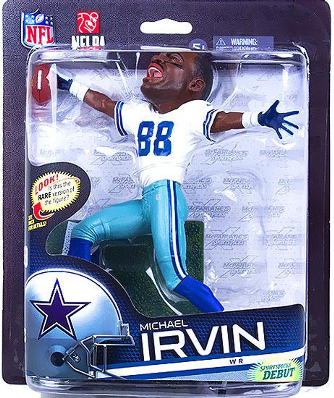 McFarlane Toys NFL Dallas Cowboys Sports Picks Series 33 Michael Irvin Action Figure [Big Head]