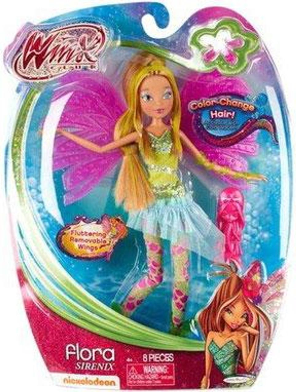 Winx Club Sirenix Flora 11.5-Inch Doll