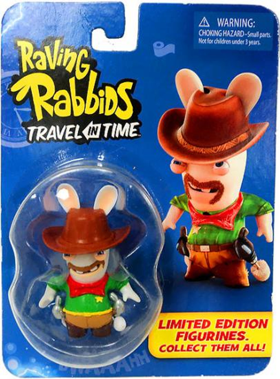 Raving Rabbids Travel in Time Cowboy Collectible Figure