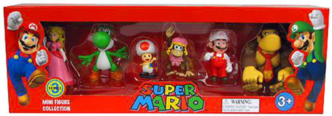 Mini Figure Collection Series 3 Super Mario Collection Mini Figures
