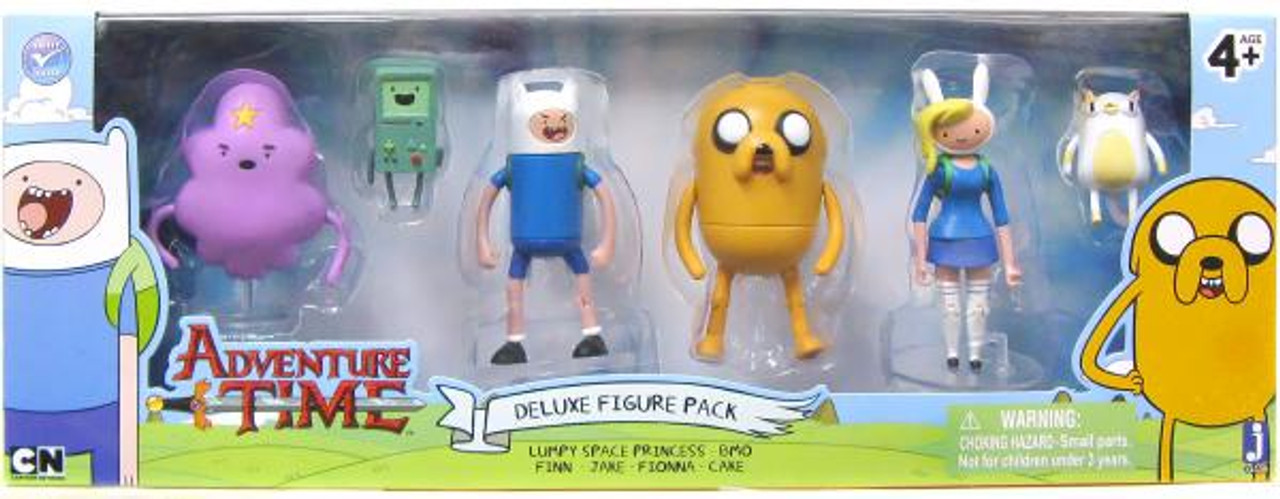 Adventure Time Adventure Time Deluxe Figure Pack Jazwares ...