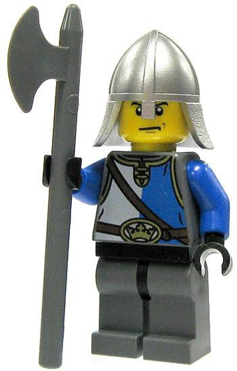 LEGO Castle Loose King's Knight Minifigure [Pole Axe Loose]