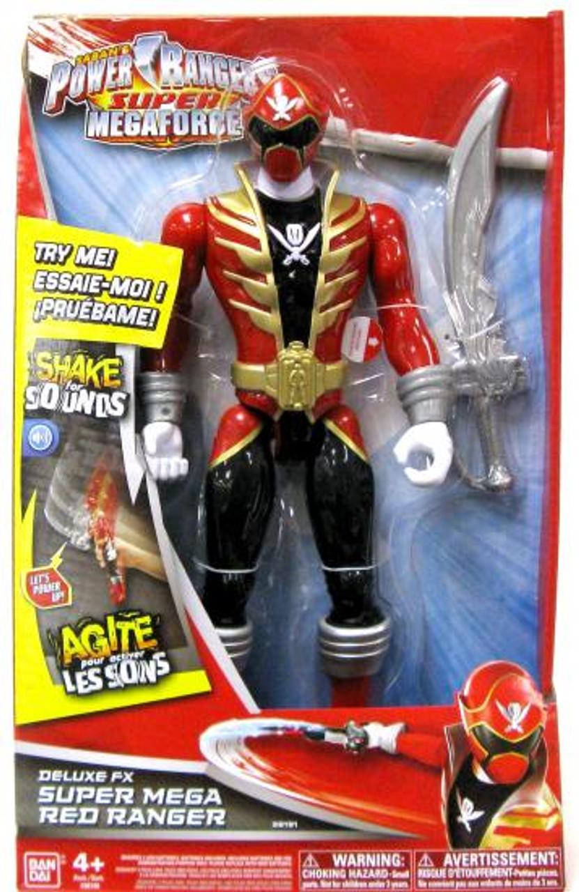 Power Rangers Super Megaforce Deluxe FX Super Mega Red Ranger Action Figure