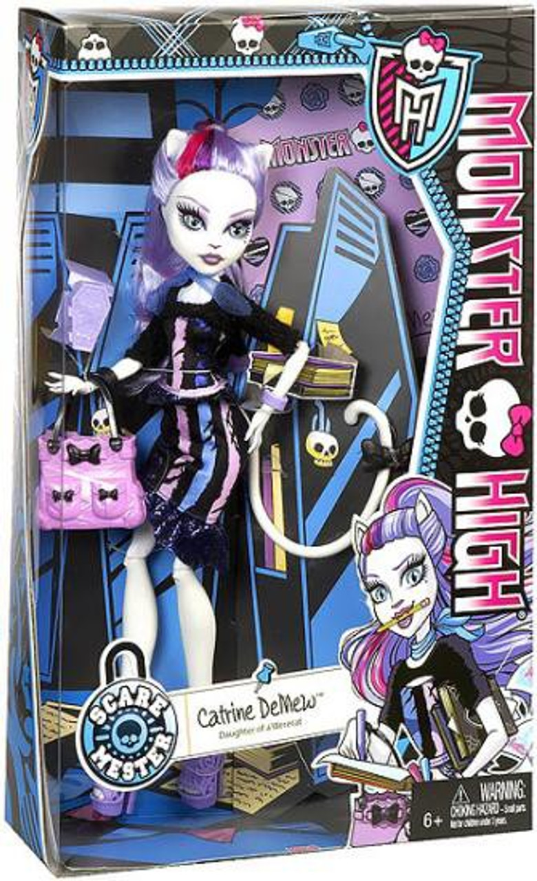Monster High Scaremester Catrine Demew 10.5-Inch Doll