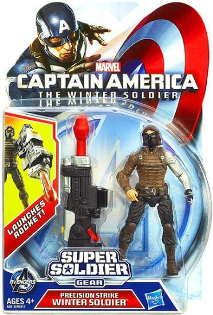 Captain America The Winter Soldier Super Soldier Gear Precision Strike Winter Soldier Action Figure