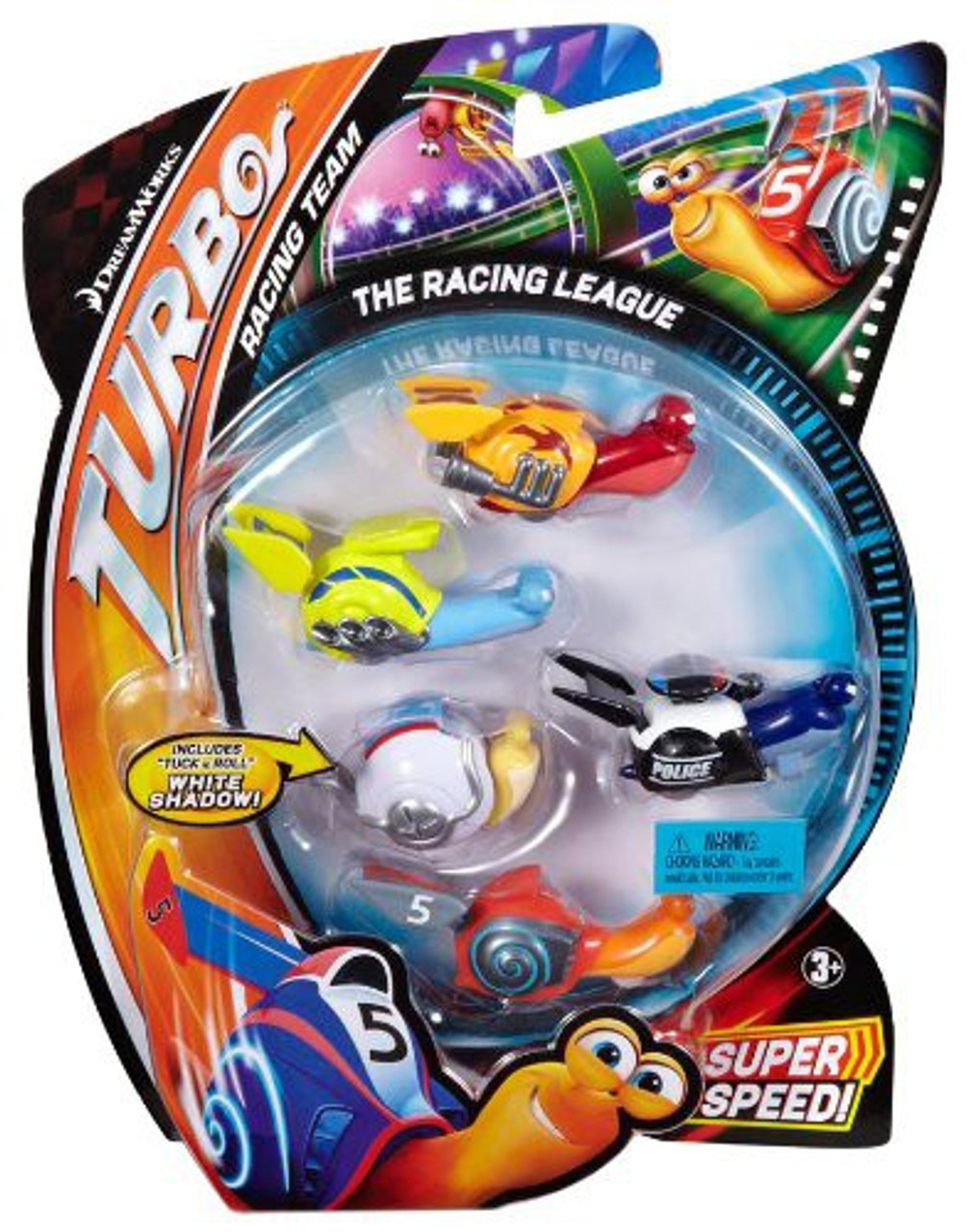 Turbo Movie Moments The Racing League Figure 5-Pack