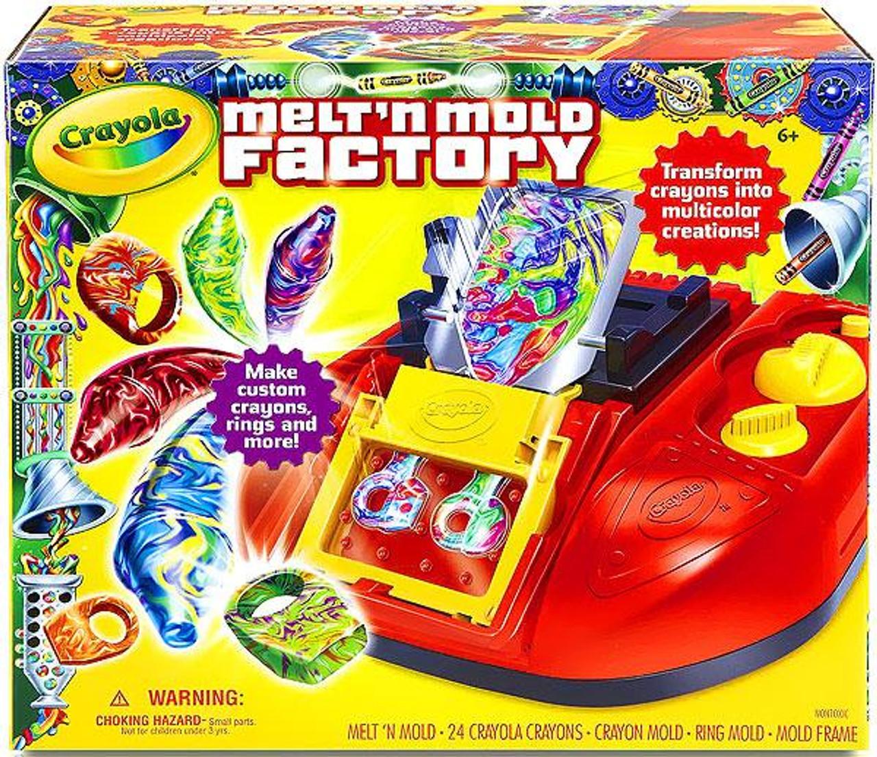 Crayola Melt 'N Mold Factory Activity Set
