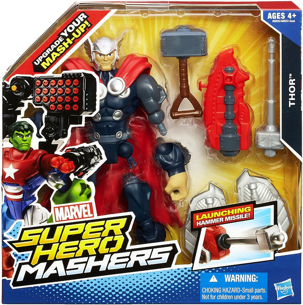 Marvel Super Hero Mashers Battle Upgrade Thor Action Figure