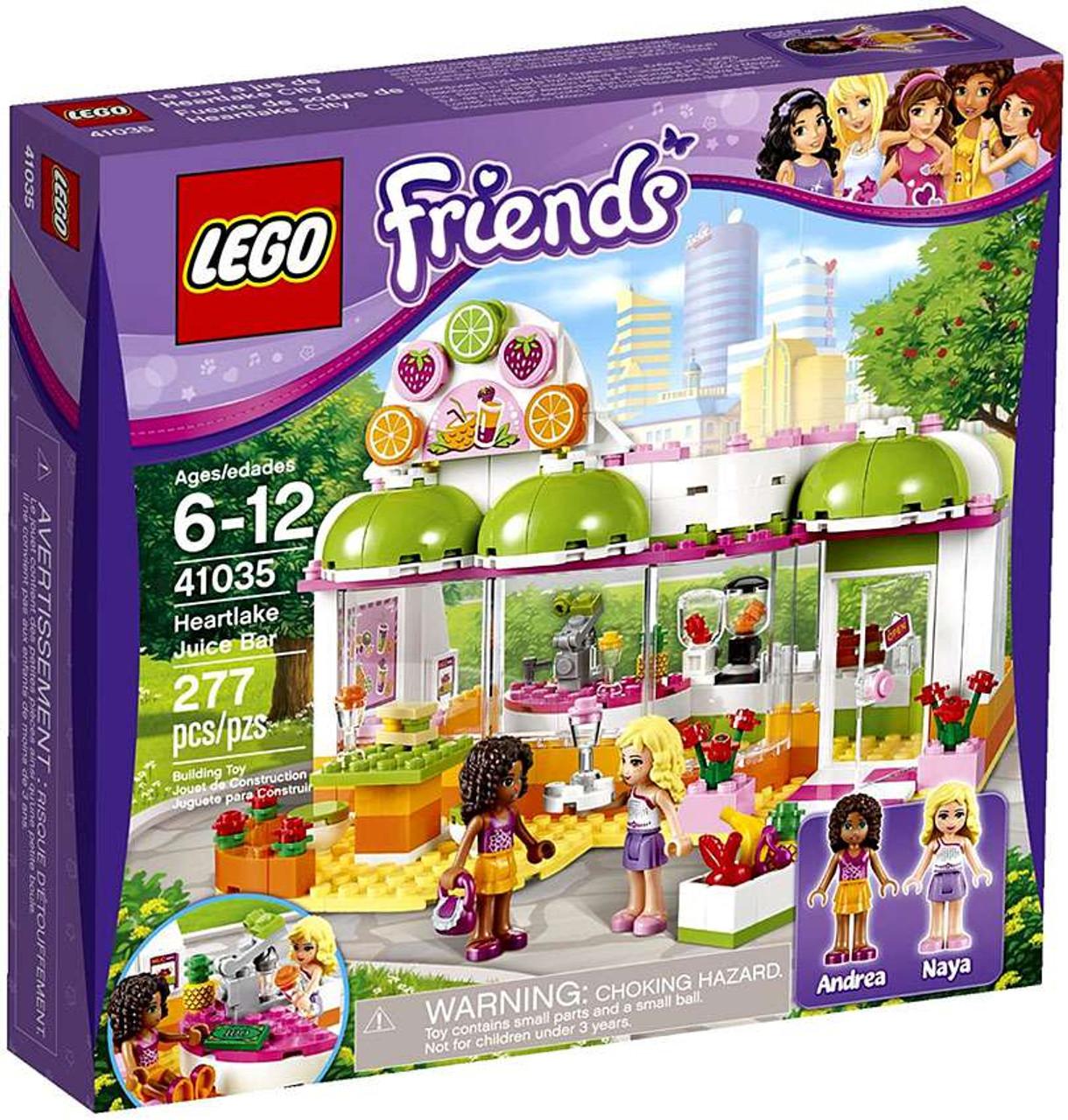 LEGO Friends Heartlake Juice Bar Set #41035