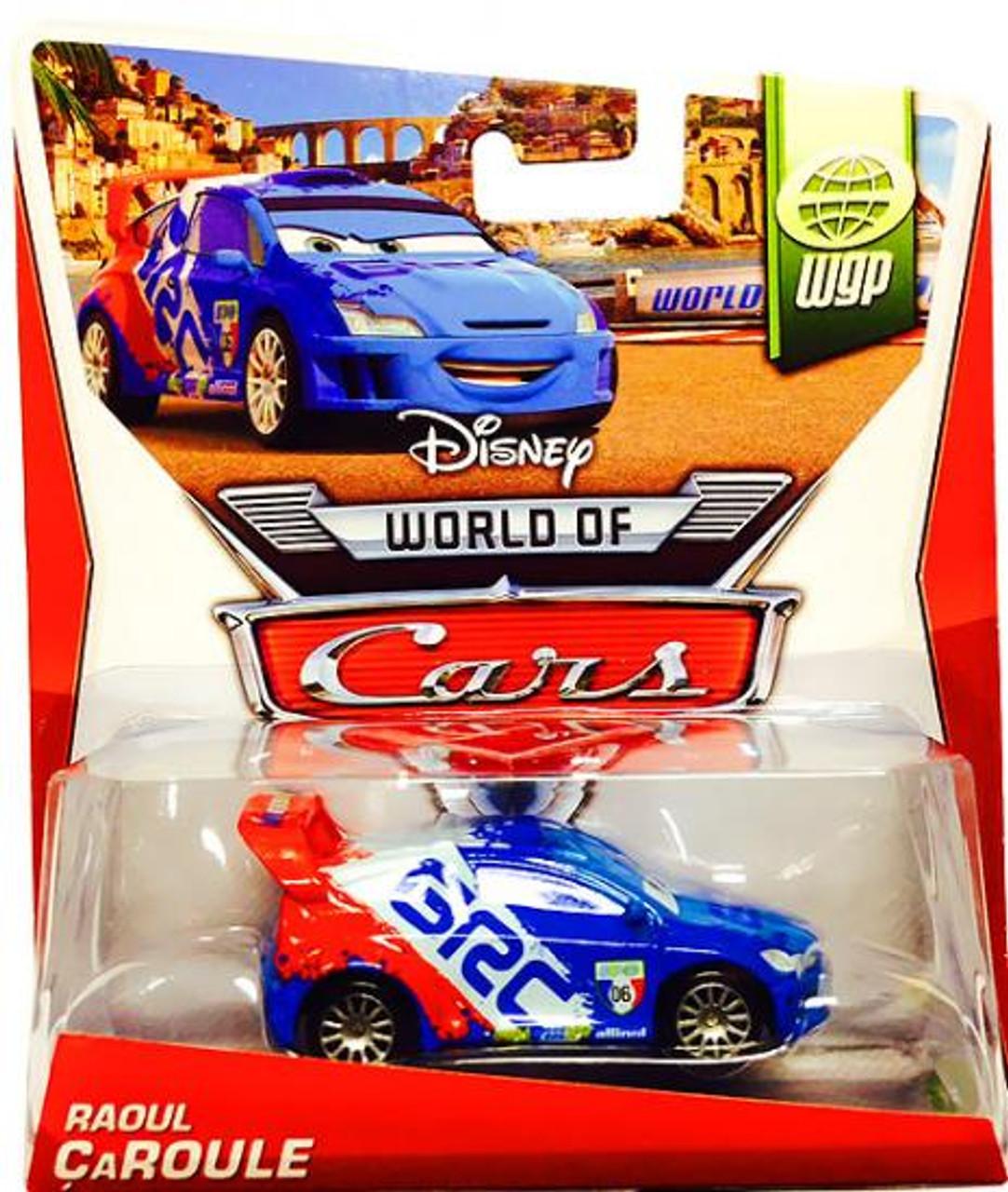 Disney Cars The World of Cars Series 2 Raoul Caroule Diecast Car