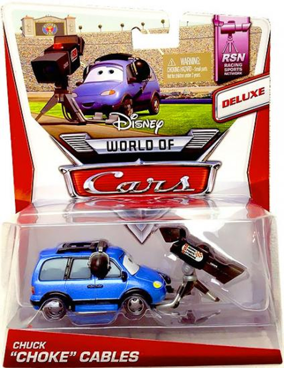 "Disney Cars The World of Cars Series 2 Chuck ""Choke"" Cables Diecast Car"