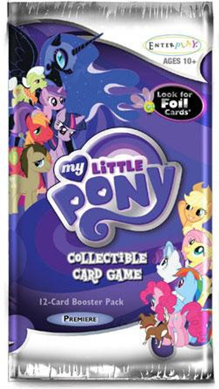 My Little Pony Collectible Card Game Premiere Booster Pack