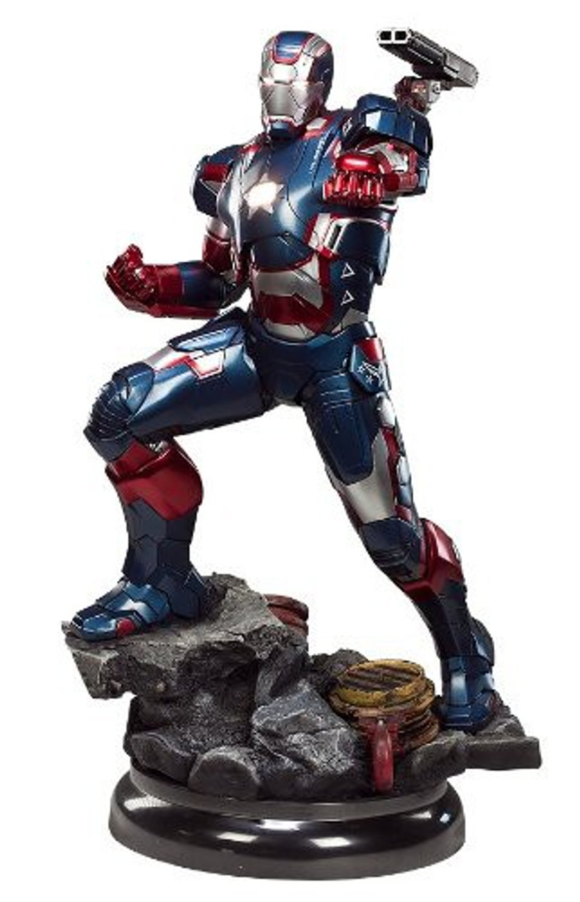 Marvel Iron Man 3 Iron Patriot Maquette