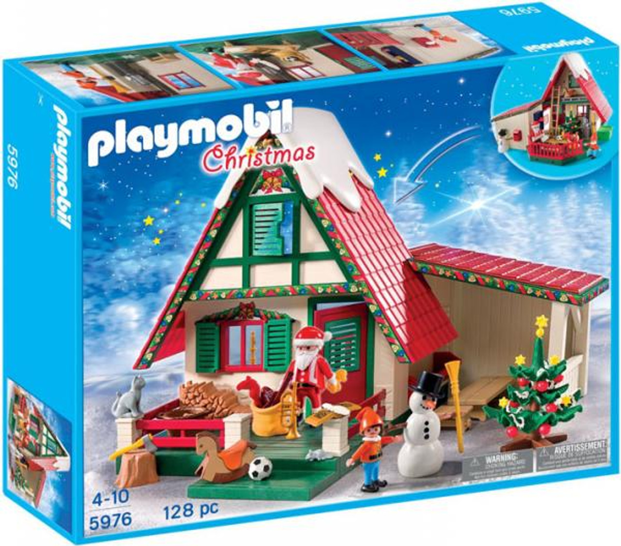 Playmobil Christmas Santa's Home Set #5976