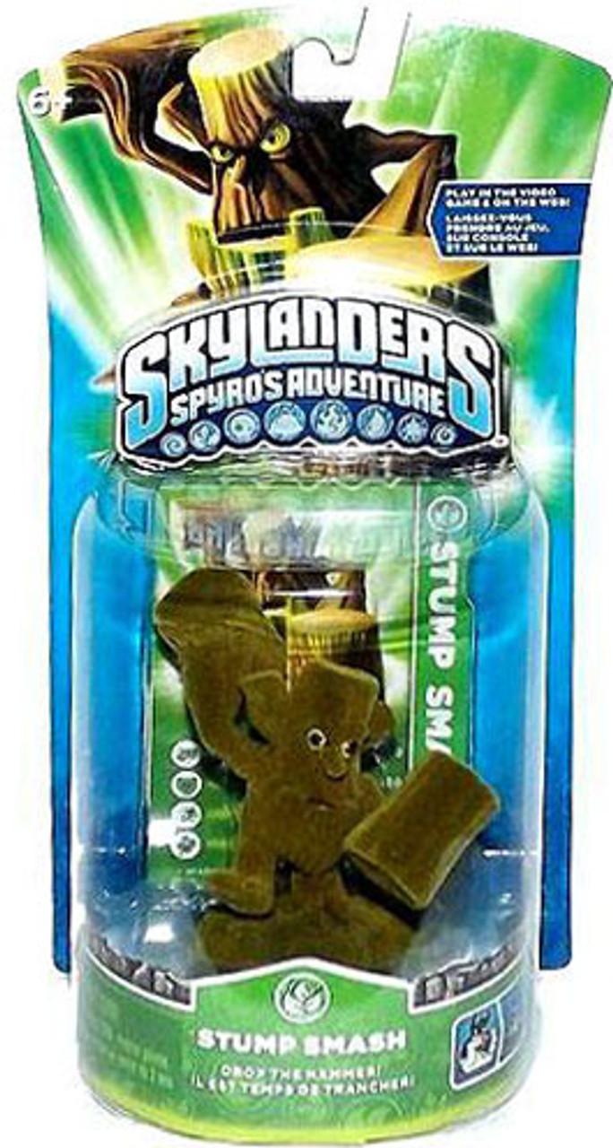 Skylanders Spyro's Adventure Stump Smash Figure Pack [Flocked - Not Working]