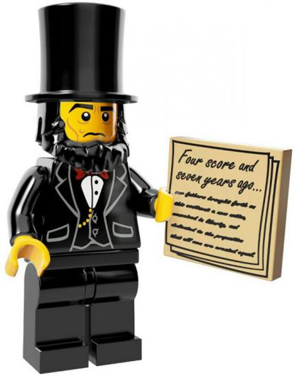 The LEGO Movie Loose Abraham Lincoln Minifigure [Loose]