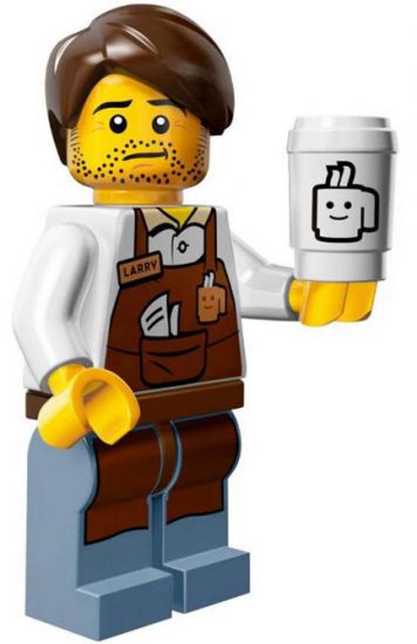 The LEGO Movie Loose Larry the Barista Minifigure [Loose]