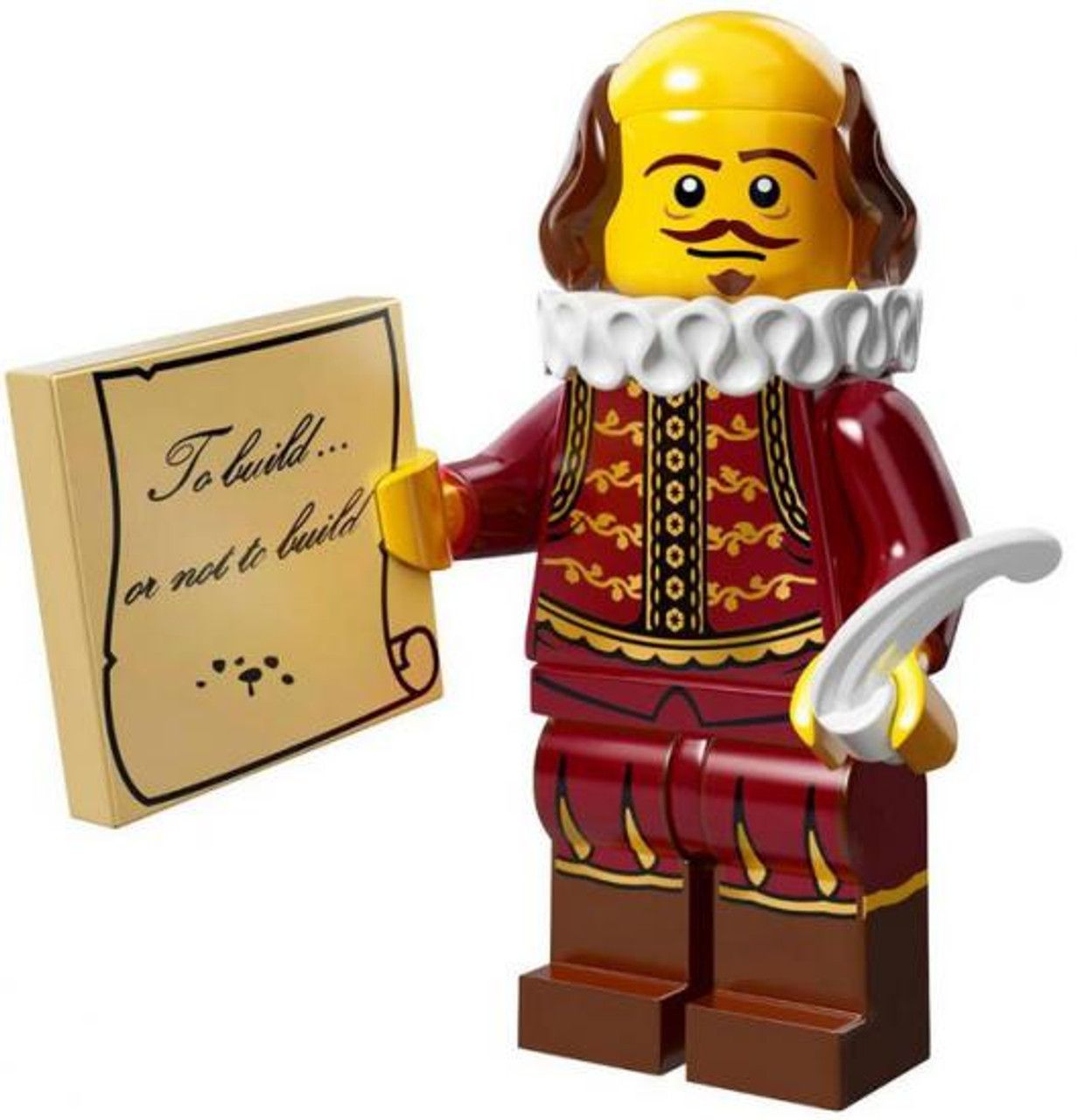 The LEGO Movie Loose William Shakespeare Minifigure [Loose]