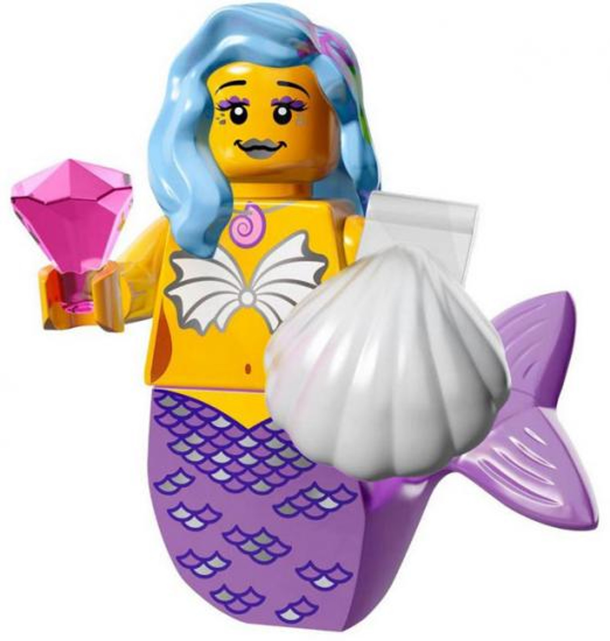 The LEGO Movie Loose Marsha Queen of the Mermaids Minifigure [Loose]