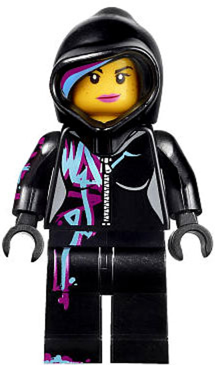 The LEGO Movie Loose Wyldstyle Minifigure [Hoodie Up]