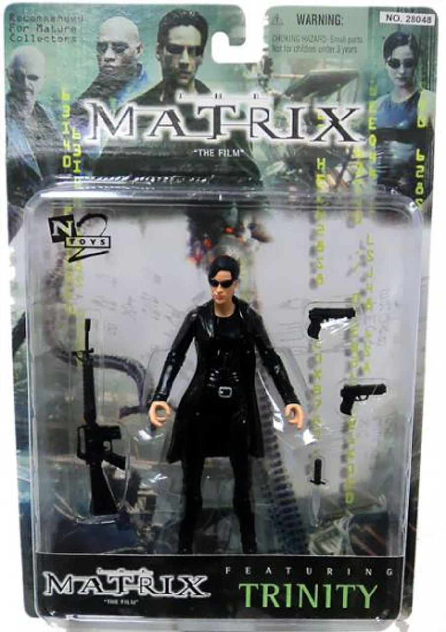 The Matrix Trinity Action Figure [with Coat]