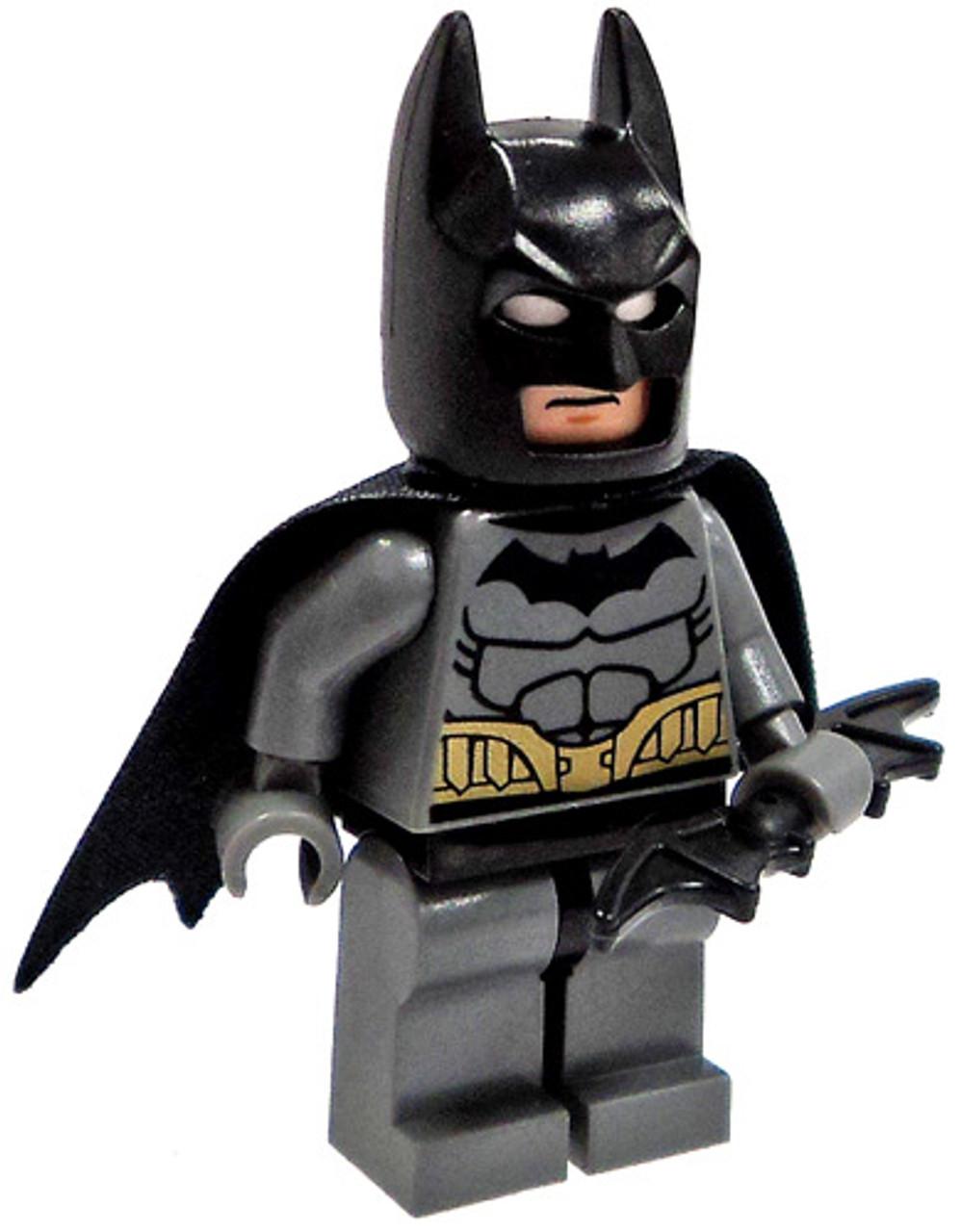 LEGO DC Universe Super Heroes Loose Batman Minifigure [Gray Loose]