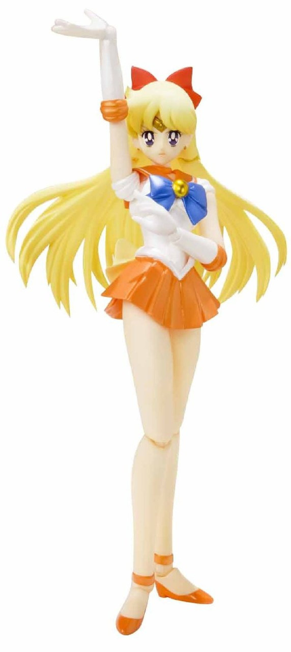 Sailor Moon S.H. Figuarts Pretty Guardian Sailor Venus Action Figure