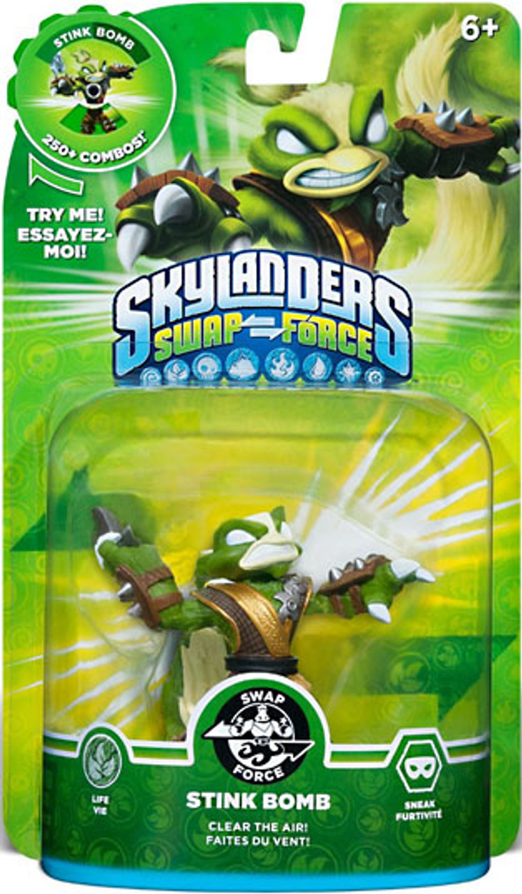Skylanders Swap Force Swappable Stink Bomb Figure Pack