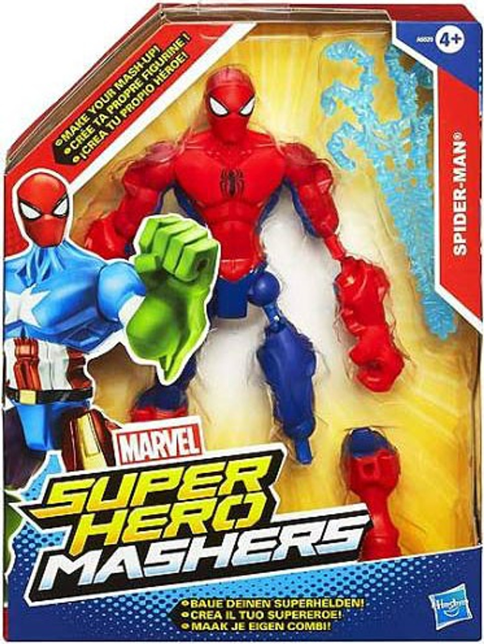 Marvel Super Hero Mashers Spider-Man Action Figure
