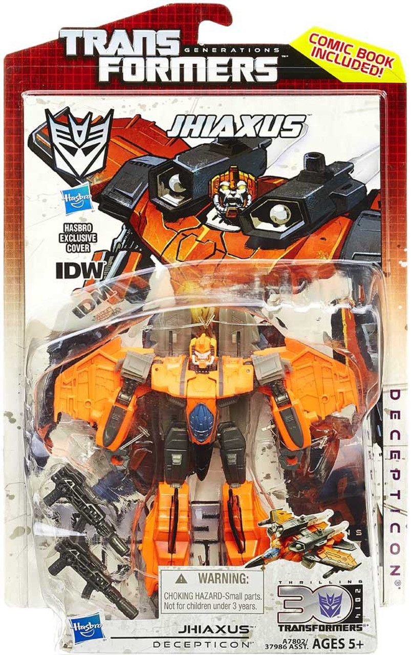 Transformers Generations 30th Anniversary Deluxe IDW Jhiaxus Deluxe Action Figure