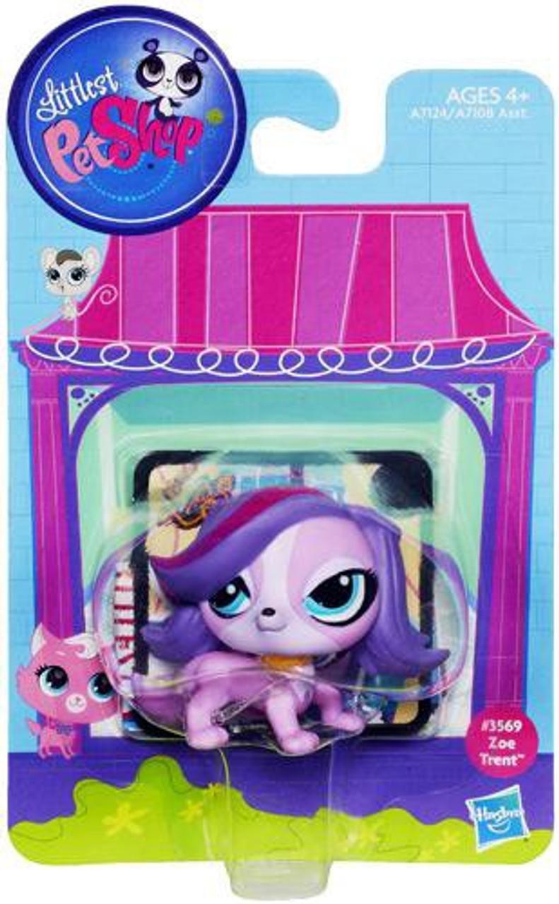 Littlest Pet Shop Bobble In Style Zoe Trent Figure #3569