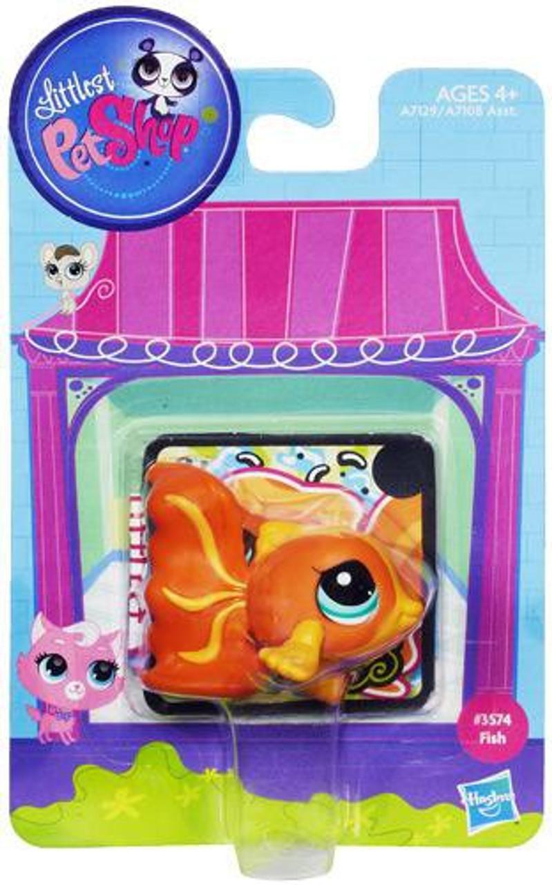 Littlest Pet Shop Fish Figure #3574