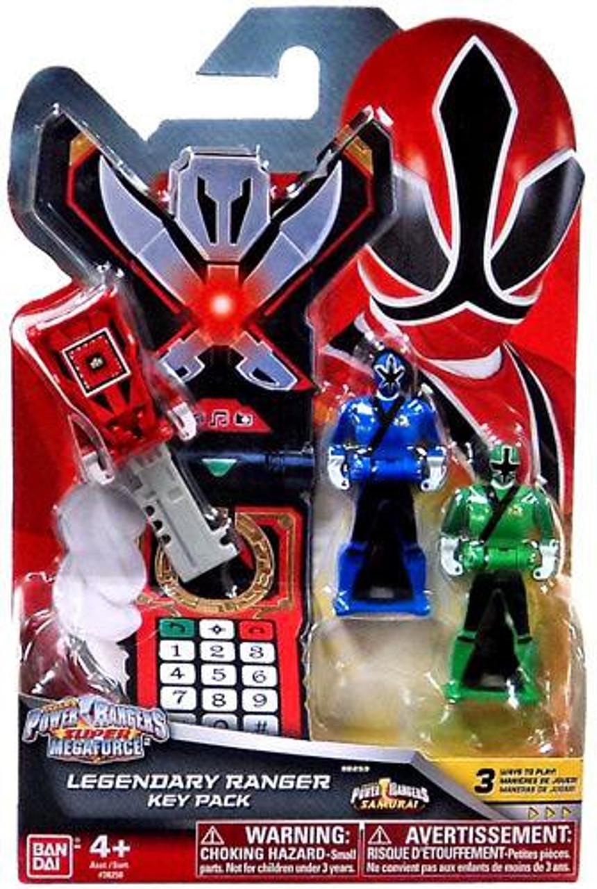 Power Rangers Super Megaforce Legendary Ranger Key Pack Roleplay Toy [Samurai]