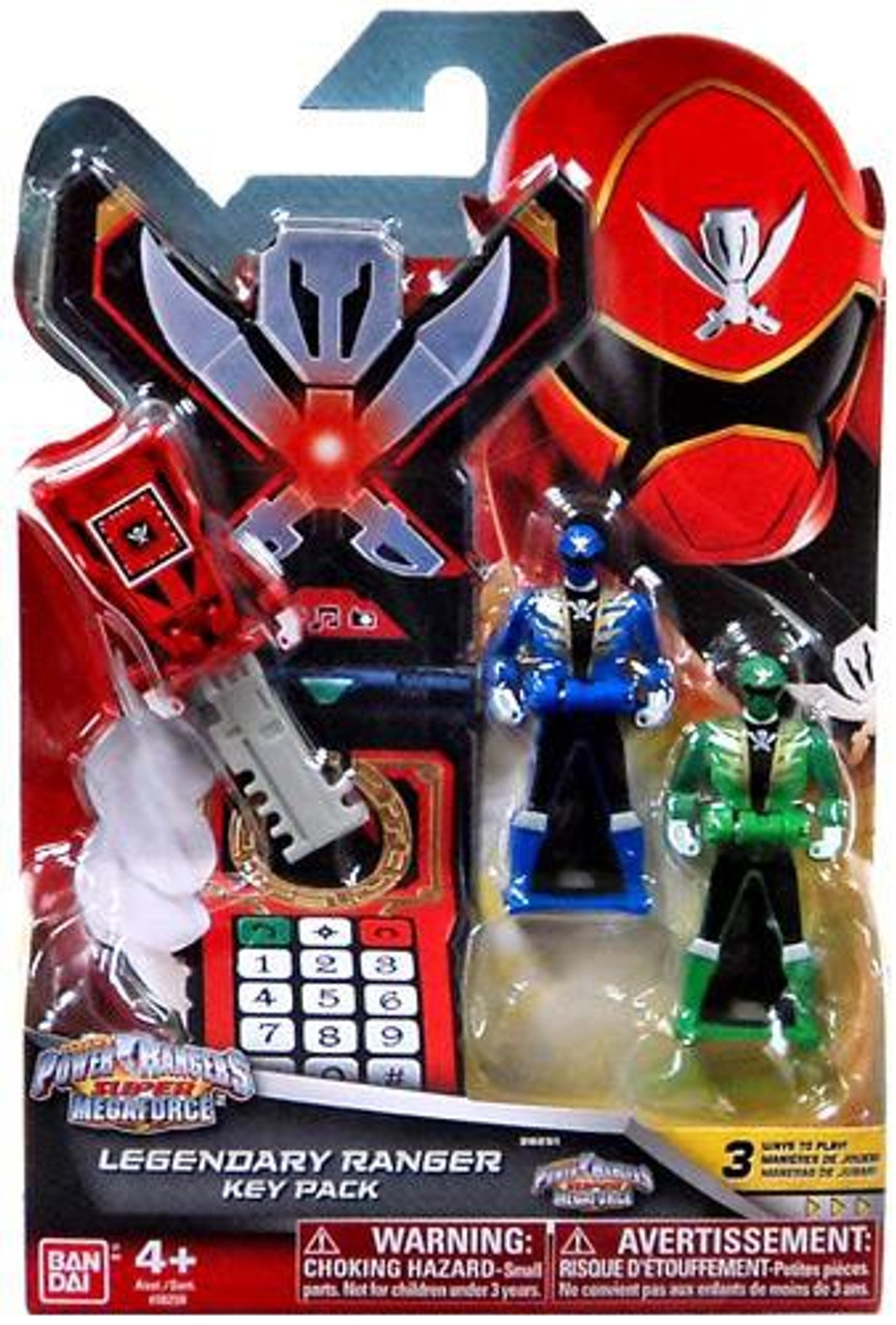 Power Rangers Super Megaforce Legendary Ranger Key Pack Roleplay Toy [Super Megaforce ]